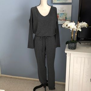 New York & Company gray jumpsuit NWT